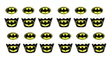 Batman Cupcake Wrapper Topper Kit Set of 1 Dozen