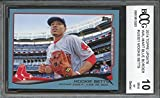 #6: 2014 topps update #us301 MOOKIE BETTS boston red sox rookie card BGS BCCG 10 Graded Card