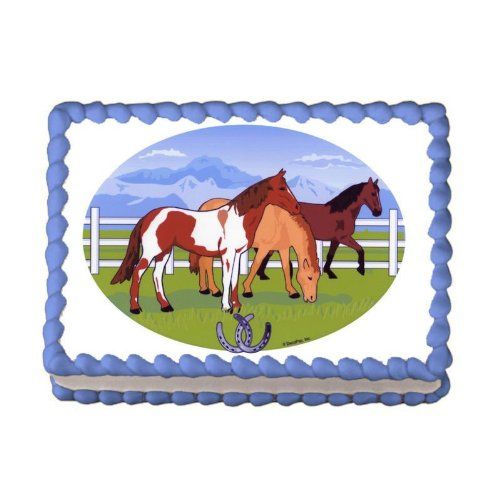 Admirable Horse Cake Toppers Shop Horse Cake Toppers Online Personalised Birthday Cards Xaembasilily Jamesorg