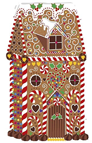 Wentworth Festive Gingerbread House Wooden 36 Piece Jigsaw Puzzle 813001 2.8 Inches x 4.7 -