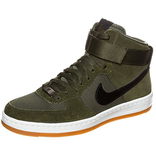 Nike Women's Air Force 1 Ultra Force Mid Fashion Sneaker, 6