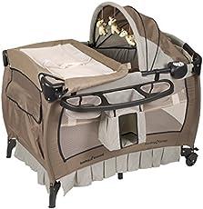 Baby Trend Deluxe Nursery Center Haven Wood