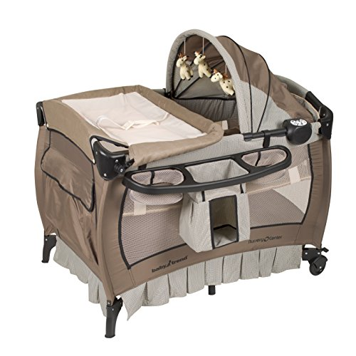 Baby Trend Deluxe Nursery Center, Haven Wood from Baby Trend