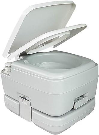 LOO LA Inodoro Portátil Químico Baño WC 10L con Tapa para ...