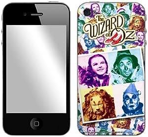 Zing Revolution Wizard of Oz Premium Vinyl Adhesive Skin for iPhone 4/4S, Foursquare (MS-WOZ10133)