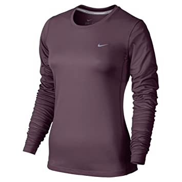 f6c4c8b1 Nike Miler Long Sleeve - Long-sleeve Top for women, Colour Purple, size L:  Amazon.co.uk: Sports & Outdoors