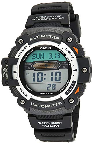 Casio Sport Gear Twin Sensor Men's Digital Dial Resin Watch - SGW-300H-1AVDR