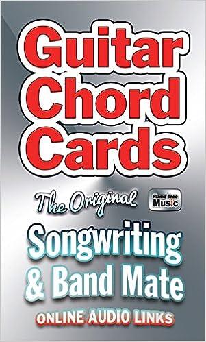 Guitar Chords Card Pack Card Packs Flame Tree Studio