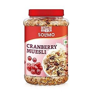 Amazon brand - Solimo Cranberry Muesli, 1kg 11 51ts7sM 2aL. SS300