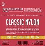 D\'Addario EJ27N 3/4 Student Nylon Fractional Classical Guitar Strings, Normal Tension