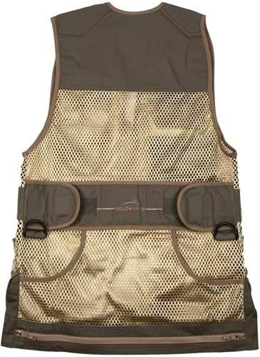Wild Hare Shooting Gear Heatwave Vest - Sage and Khaki (3XL, right)