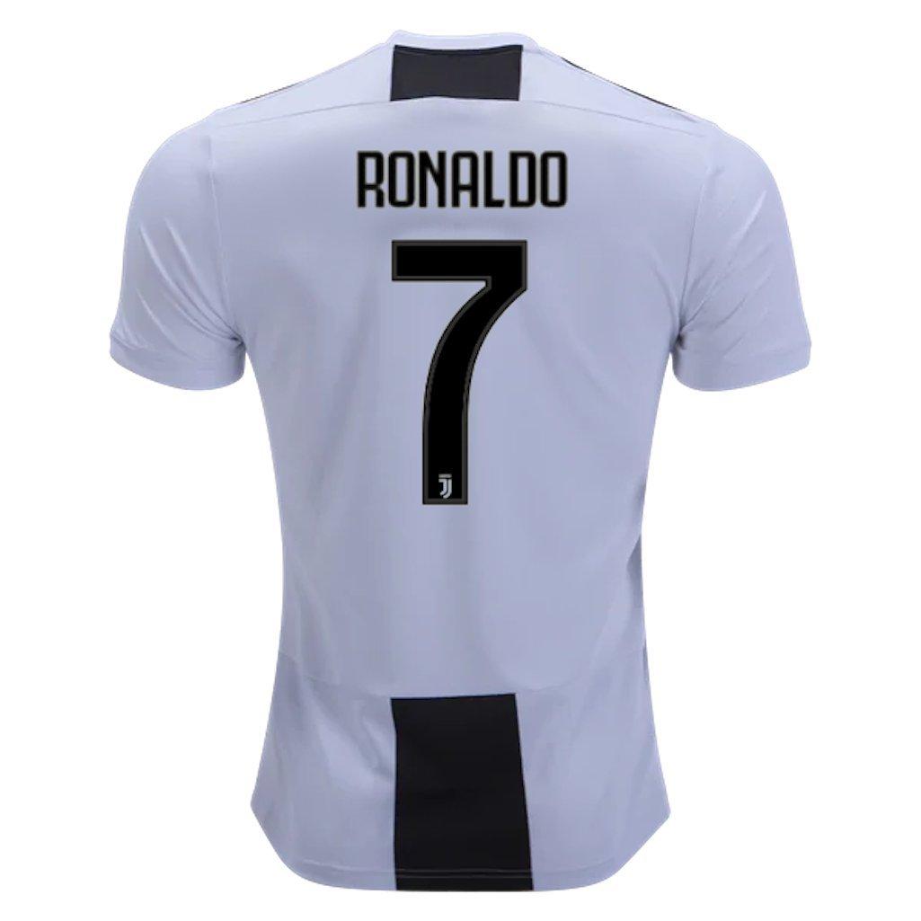 e287b515b9b NEWsto Men's 2018/2019 Juventus Ronaldo #7 Home Jersey Size S: Amazon.ca:  Clothing & Accessories