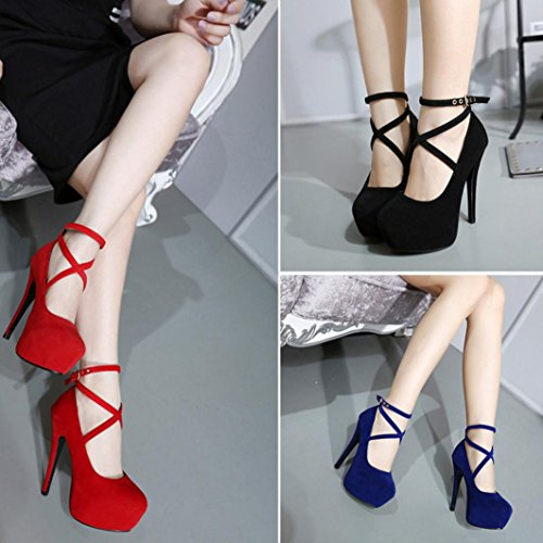 Shoes MRELT Heels Shallow Round Heels Sale High Clearance Red Casual Shoes Heeled Women Toe Spring Thin 1n8tqzBxE