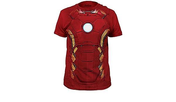 Amazon.com: Iron Man - Suit T-Shirt Size M: Clothing