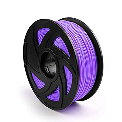 Areyourshop ABS 3D Printer Filament 1.75 mm,1kg Spool 2.2lbs, Dimensional Accuracy +/- 0.03mm,for 3D Printers,3D printing Pen Purple