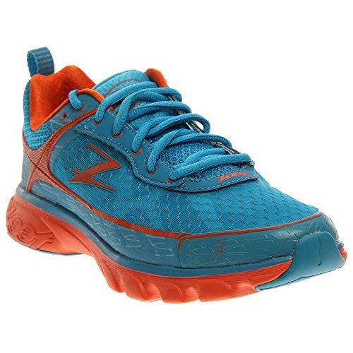 Zoot Women's Solana Running Shoe,Splash/Flame/Gulfstream,8.5 M US