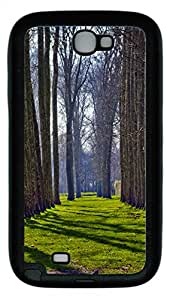 Samsung Note II Case Tree Alley In Versailles TPU Custom Samsung Note 2 Case Cover Black
