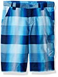 Columbia Boys Silver Ridge Printed Shorts, Super Blue Plaid, X-Small