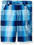Columbia Boys Silver Ridge Printed Shorts, Super Blue Plaid, X-Small