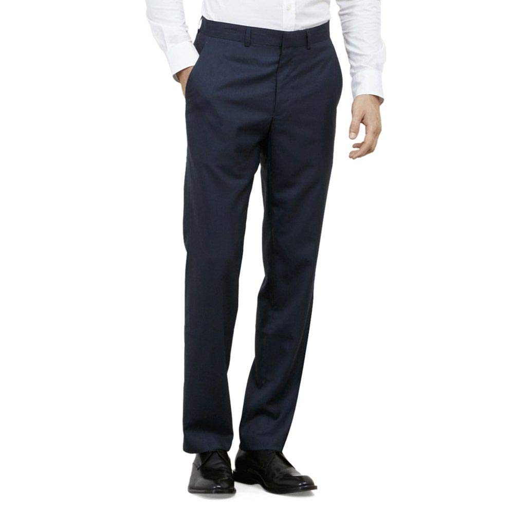 Kenneth Cole Reaction Slim-Fit Suit Pant - Men's - Blue 023804196144