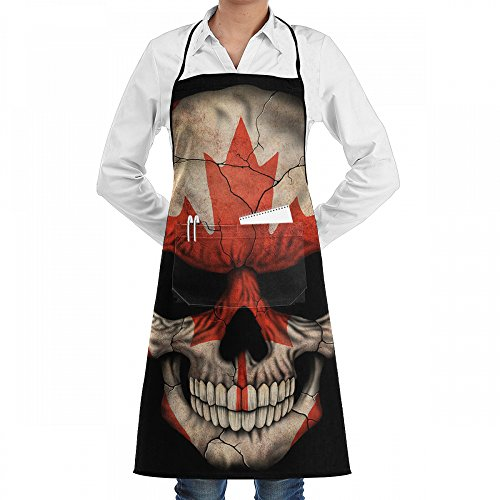 HOME Bib Kitchen Apron Set For Women And Men With Pockets Fu