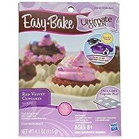 Juego de reposición de pastelillos de terciopelo rojo, último horno Easy Bake Ultimate Oven, 4.1 oz