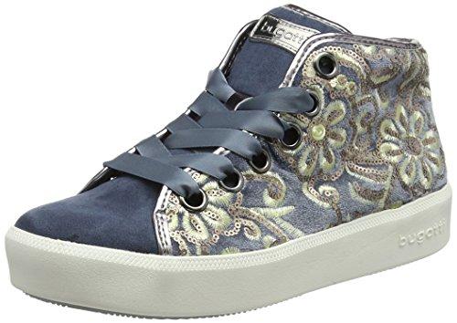 blue Blu A Collo 422407326469 Donna Metallics 4090 Alto Sneaker Bugatti xR0Aw