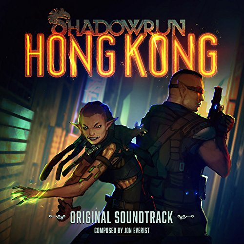 Vinilo : Jon Everist - Shadowrun: Hong Kong (original Soundtrack) (Gold, Silver, 2PC)