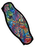 Innovative Scuba Concepts Strap Wrapper Neoprene Mask Strap Cover - Fish School