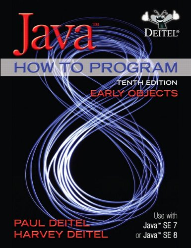 Java How to Program (Early Objects) ISBN-13 9780133807806