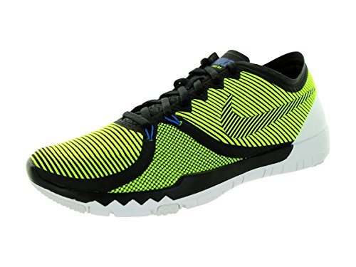 NIKE Mens Free Trainer 3.0 V4 Running Shoes (Cactus, Black, Volt) SZ. - 3 Run Free Black
