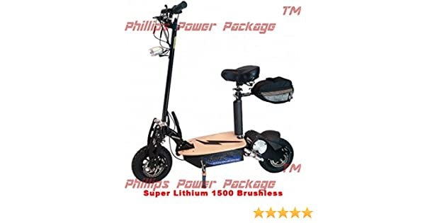Amazon Com Super Cycles Scooters Super Lithium 1500 Brushless