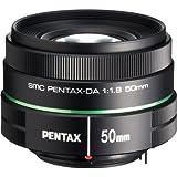 Pentax 22177 - Objetivo para cámara DA 50 mm F/1.8 (SLR, 6/5, estándar, 3.85 cm, filtro 5.2 cm) color negro