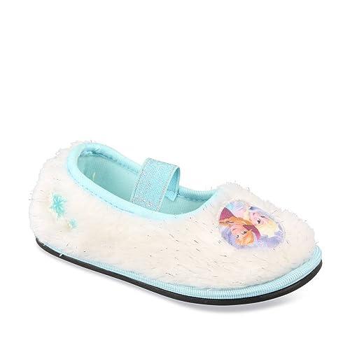 3849a8589 Frozen - Zapatillas de estar Por casa de Material Sintético Para Niña