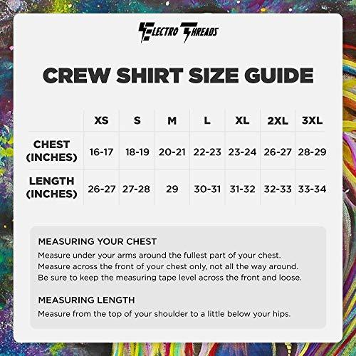 Electro Threads Crew T-Shirt • Meditating Rafiki X-Small