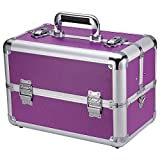 Ollieroo Makeup Train Case Professional 14