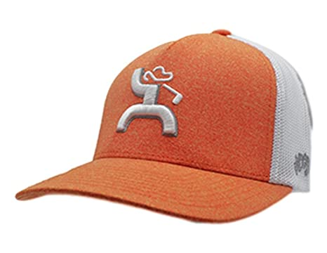 new styles 78951 00493 HOOey Brand, Coach, Orange White S M Flexfit Hat - 1824ORWH-