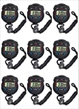 Fomatrade pack of 10pcs/lot Digital Handheld Multi-function Professional Electronic Chronograph Sports Stopwatch Timer Stop Watch (XL-013)