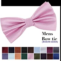 CID-043 More 20 Color Available Fashion Checkered Pre-tied Bowtie By Dan Smith