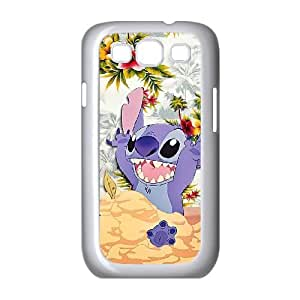 Disneys Lilo And Stitch Samsung Galaxy S3 9 Cell Phone Case White Exquisite designs Phone Case KM428178