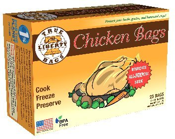 True Liberty Bags - Chicken 25 Pack - All Purpose Home and Garden Bags