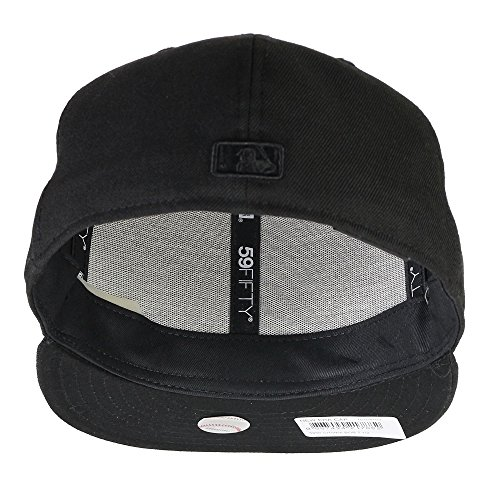 Ny Basic Noir Schwarz 59fifty Fitted Yankees blanc Era New Baseball Chapeau Mlb Homme De tETTq4