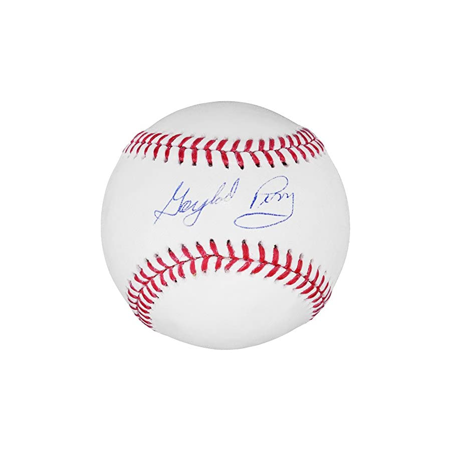Gaylord Perry Seattle Mariners Autographed Baseball Fanatics Authentic Certified Autographed Baseballs