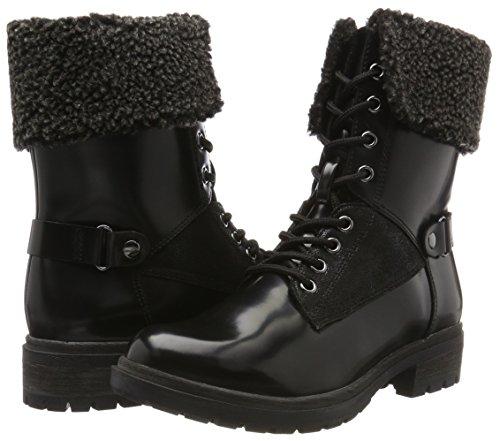 Tamaris Noir 26204 Lack Femme black Bottes xqOaSv0