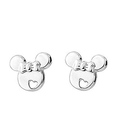 969fb3b299c9 Pendientes Findout. Pendientes de Mickey Mouse de plata de ley