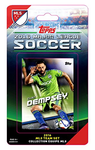MLS Seattle Sounders 2016 Topps Set & Storage