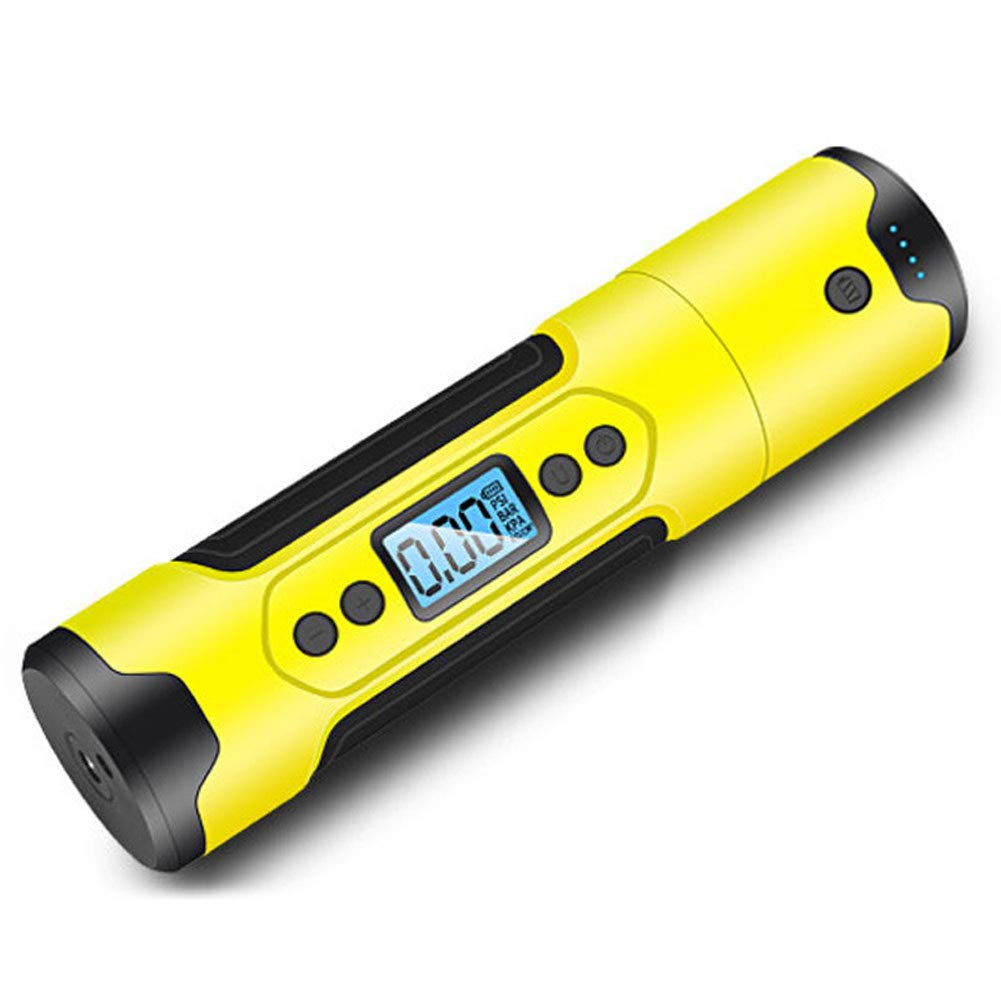 Leoattend Portable Air Compressor Mini Inflator Handheld Air Pump 150PSI LCD Display LED Light,1x Inflator Kit,Inflatable time: About 40 Minutes,Inflatable Speed: 25-35L/min,Hose Length: 120mm by Leoattend