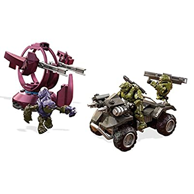 Mega Construx Halo UNSC Gungoose Rampage Building Set: Mega Construx Gaming And Pop Culture: Toys & Games