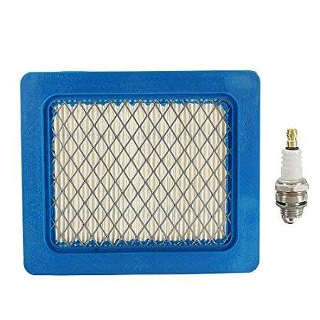 GOZAR Kit De Servicio De Filtro Plug & Air para Segadoras Honda Izy/Hrx Y Gcv 135/160/190