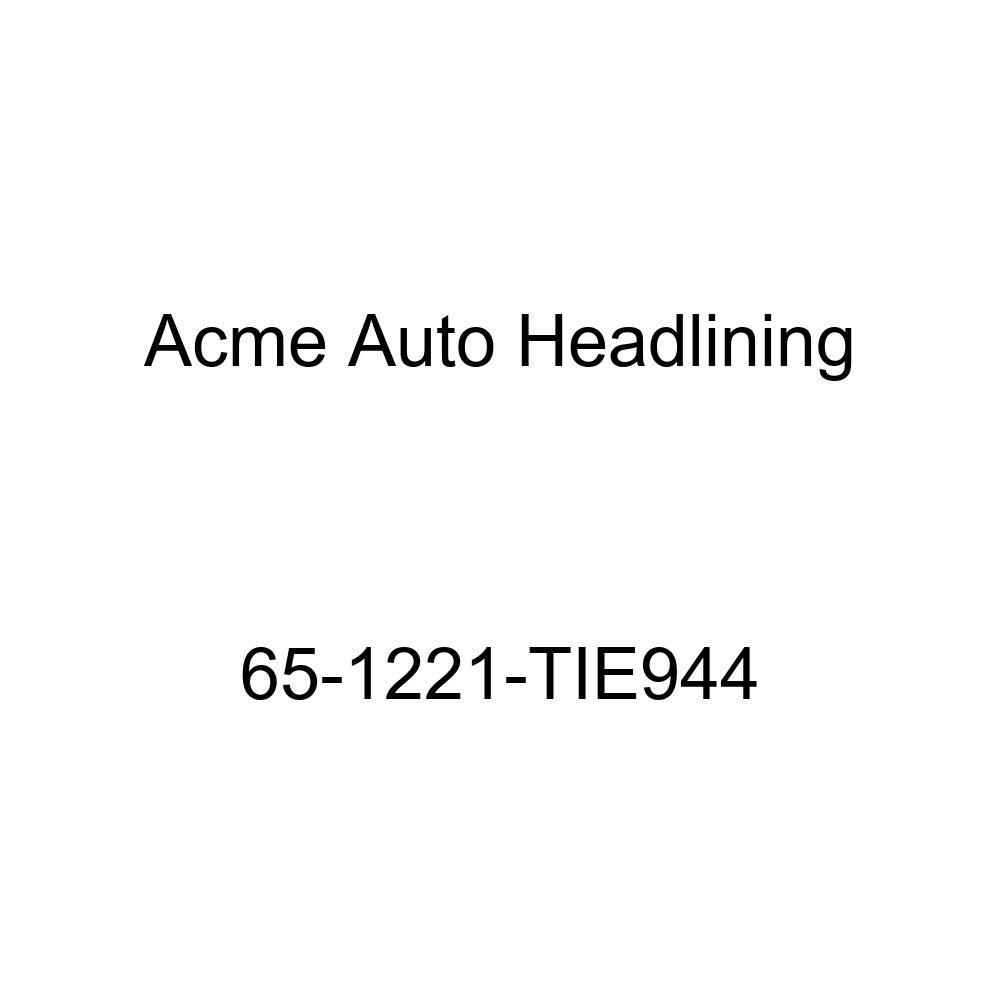 Oldsmobile F85 2 Door Coupe /& Hardtop 5 Bows Acme Auto Headlining 65-1221-TIE944 White Replacement Headliner